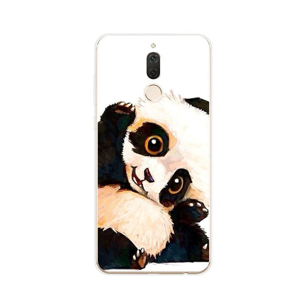 Huawei Nova 2i Case,Silicon Lovely Kitten Painting Soft TPU Back Cover For Huawei Nova 2I Phone Protect Case Shell