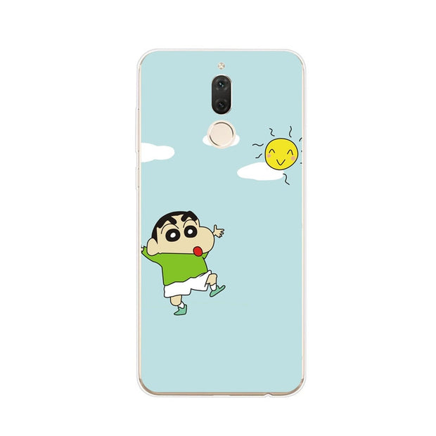 Huawei Nova 2i Case,Silicon Beautiful Cartoon Animal Painting Soft TPU Back Cover For Huawei Nova 2I Phone Protect Case Shell