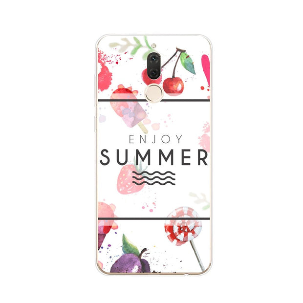 Huawei Nova 2i Case,Silicon Scenery Painting Soft TPU Back Cover For Huawei Nova 2I Phone Fitted Case Shell
