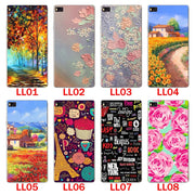 Huawei P8 Case,Silicon Bandersnatch Painting Soft TPU Back Cover For Huawei P8 Phone Protect Bags Shell