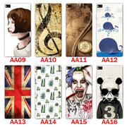 Huawei P8 Case,Silicon Panda Painting Soft TPU Back Cover For Huawei P8 Phone Protect Bags Shell