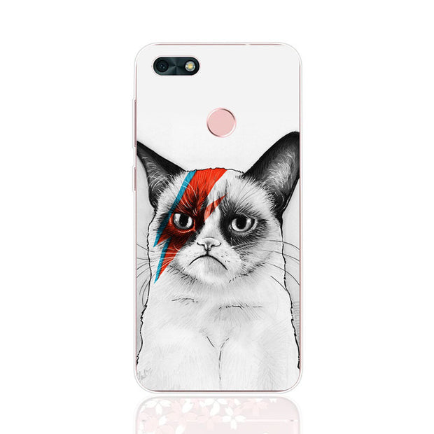 Huawei Y6 Pro 2017 Case,Silicon Cartoon Animal Painting Soft TPU Back Cover For Huawei Y6 Pro 2017 Phone Fitted Case Shell