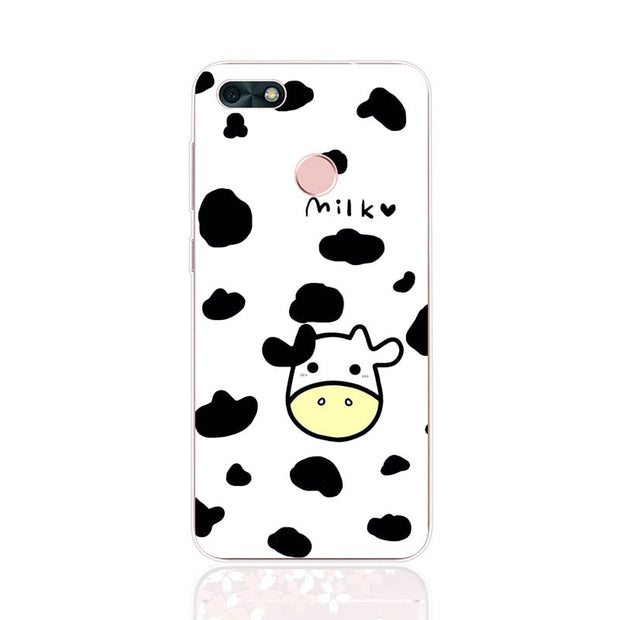 Huawei Y6 Pro 2017 Case,Silicon Cartoon Painting Soft TPU Back Cover For Huawei Y6 Pro 2017 Phone Fitted Case Shell