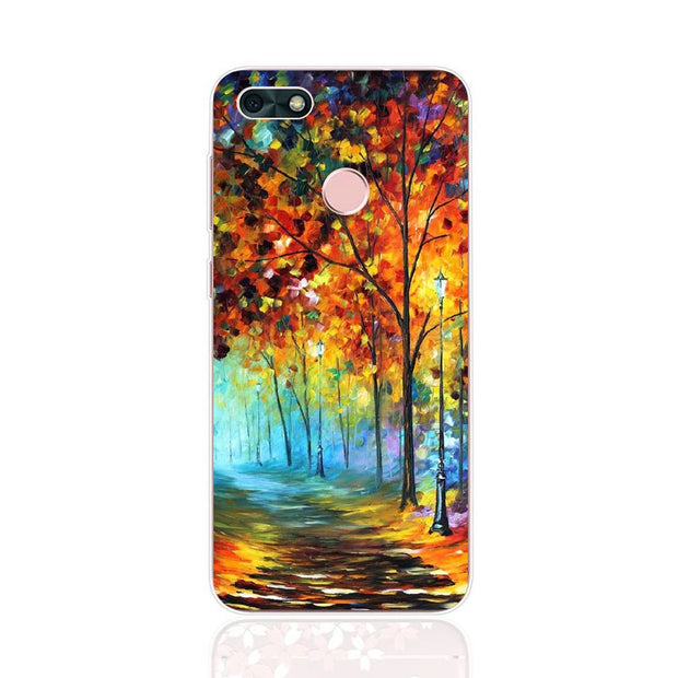 Huawei Y6 Pro 2017 Case,Silicon Graffiti 3D Relief Painting Soft TPU Back Cover For Huawei Y6 Pro 2017 Phone Fitted Case Shell