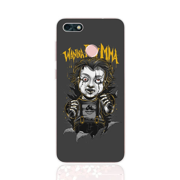 Huawei Y6 Pro 2017 Case,Silicon Phanton Cartoon Painting Soft TPU Back Cover For Huawei Y6 Pro 2017 Phone Fitted Case Shell