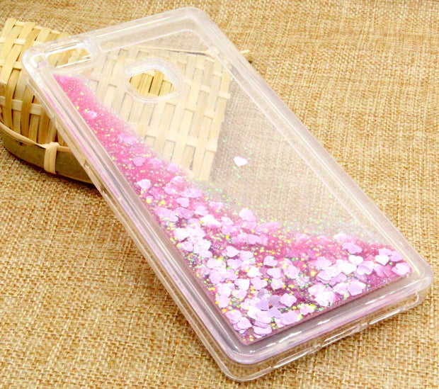 JFWEN For Coque Huawei P9 Lite P20 Lite Pro Case Silicone Liquid Glitter Phone Cases For Huawei P9 Lite 2016 P10 Lite Case Cover
