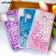 JFWEN For Xiaomi Redmi Note 5 Case Silicone Soft TPU Liquid Glitter Phone Cases For Xiaomi Redmi Note 5 Pro Case Cover