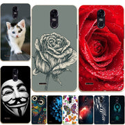 June New Arrival Silicone Cover For LG Stylus 3 Case Soft Cartoon Painted Phone Case For LG Stylus 3 Cover For LG Stylo 3 5.7""