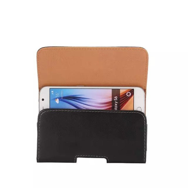 KEFO 360 Rotation Belt Clip Holster PU Leather Pouch Bag Case For Xiaomi Redmi 6 Pro 6A 5 Plus 5A 4 4X 4A 3 3S 2 2A Waist Cover