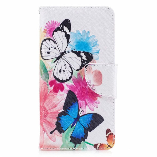 KL-Boutiques For Huawei Honor 6C Case Flip Leather Wallet Magnet Luxury Phone Cases For Coque Huawei Honor6C Case Cover Capa