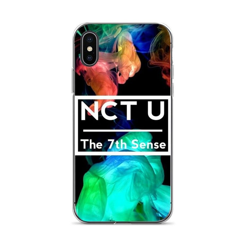 KuLiai NCT Bands Kpop Soft Silicone Cover Case For IPhone 6plus 6s 7plus  8plus X Coque Shell