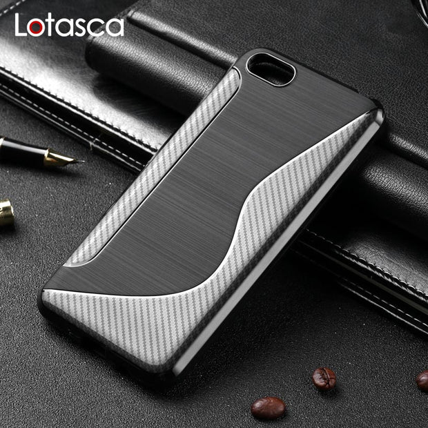 LOTASCA Case For Huawei Y7 2018 Y7 Prime Nova 2 Lite TPU Silicone Fundas Y7 Pro Honor 7C Global Enjoy 8 Coque Cover 5.99 Inch