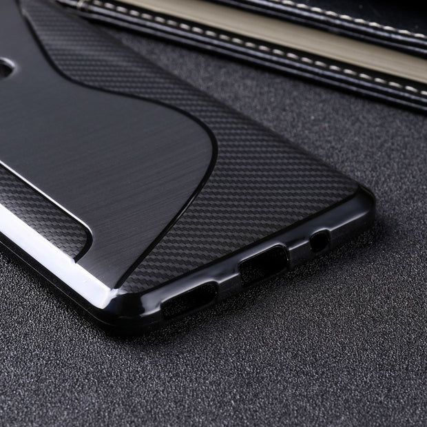 LOTASCA Case For Nokia 5.1 2018 Slicone TPU Cover For Nokia 5 2018 Soft Cases S Line Black Back Cover Business Coque 5.5 Inch