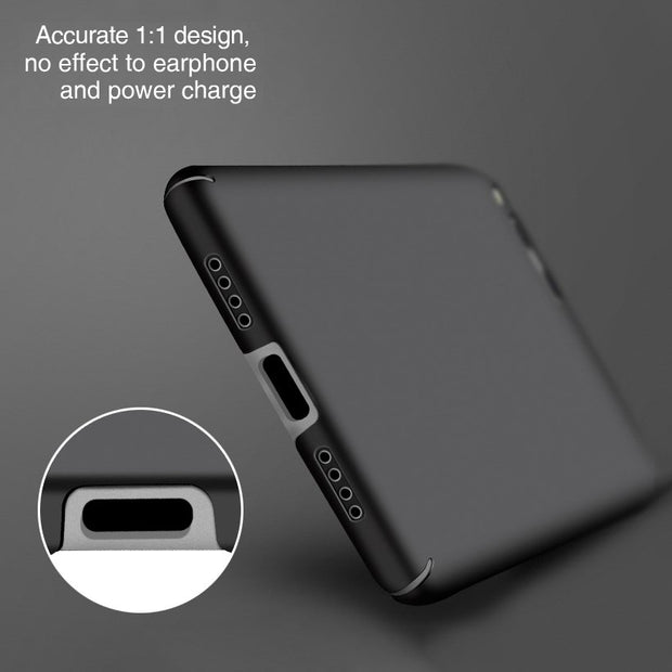 LOTASCA Luxury Case For Xiaomi Mi 6 Cover Mi Six For Xiaomi Mi6 Phone Cases For Xiaomi Plastic 360 Full Cover Coque 5.15 Inch