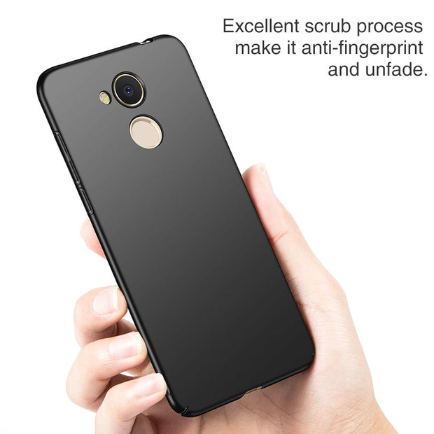 LOTASCA Plastic Case For Huawei Honor 6C Pro PC Case For Huawei Honor V9 Play AL00/AL10TL00/TL10 Luxury 360 Full Cover 5.2 Inch