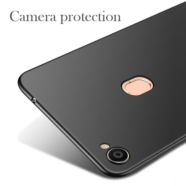LOTASCA Plastic Case For OPPO F7 360 Full Cover Ultra Thin Luxury Back Cover Black Red Coque Hard PC Fundas Phone Case 6.28 Inch
