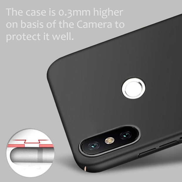 LOTASCA Plastic Case For Xiaomi Redmi S2 Coque Redmi Y2 Black Red Phone Case 360 Full Cover Ultra Thin Luxury Fundas 5.99 Inch