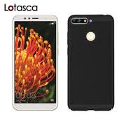 LOTASCA Rubber Oil Case For Huawei Y6 Prime 2018 Honor 7A Pro 7C Russian Enjoy 8E ATU-AL10 ATU-TL10 Paint Hard PC Cases 5.7 Inch