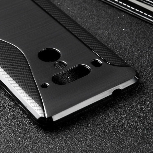LOTASCA TPU Case For HTC U12 Plus Silicone Cover For HTC U12 Plus Back Cover Black S Line Business 6.0 Inch Fundas Coque