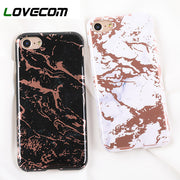LOVECOM Marble Rock Stone Texture Phone Case For IPhone XS XR XS Max X 6 6S 7 8 Plus Soft IMD Protective Back Cover Coque Cases