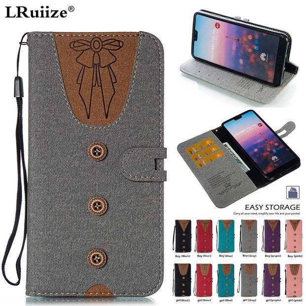 LRuiize Wallet Case For HUAWEI P20 Pro Flip Coque Leather With Stand Phone Bag Case Cover For Huawei P20 Pro Cases P20 P20 Pro