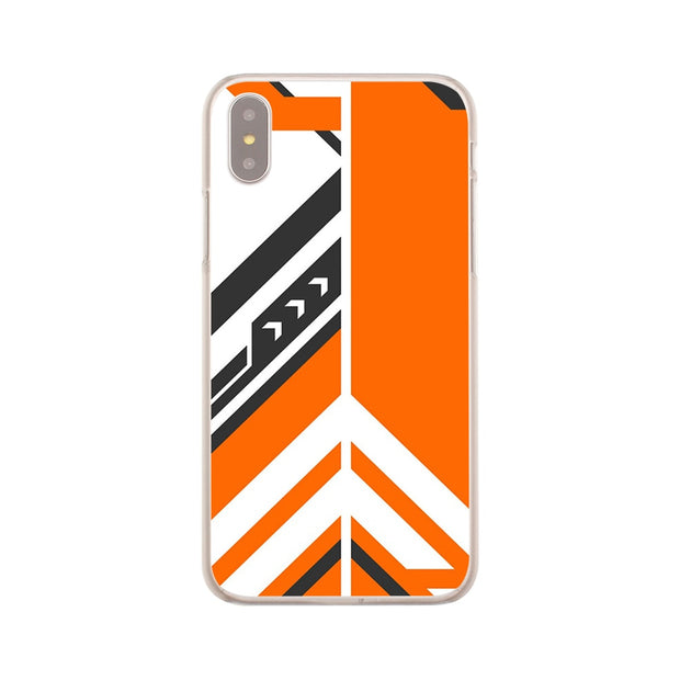 Laumans Asiimov Hard Transparent Cover Case For IPhone 8 Plus 7 Plus 6 6s Plus X/10 5 5S SE 5C 4 4S