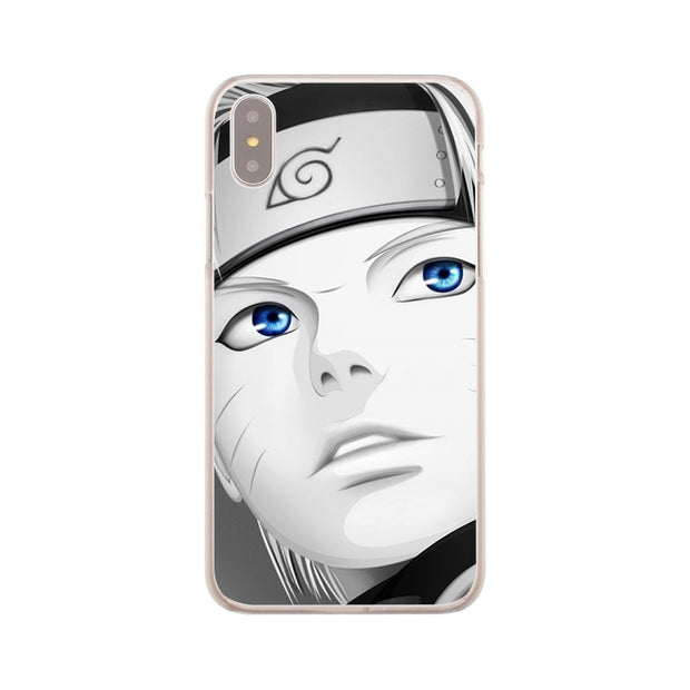 Laumans Naruto Akatsuki Hard Cover Case For IPhone 8 7 Plus 6 6s Plus 5 5S SE 5C 4 4S X/10