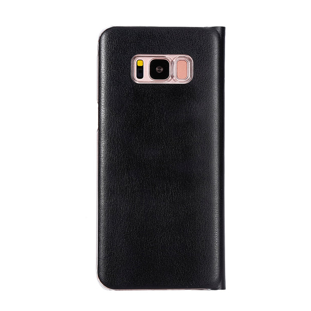 Leather Card Slot Flip Phone Case For Samsung Galaxy S8 S7 S6 S7edge S7plus J3 J5 J1 A7 A3 A5 2016/17 Stand Wallet Cover