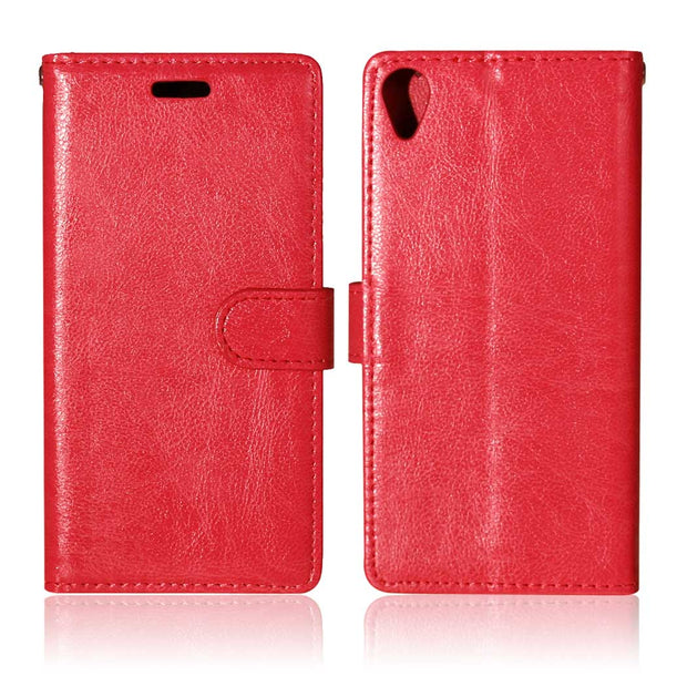 "Leather For Sony Xperia X F5121 Dual 5.0"" Flip Case Photo Frame Phone Leather Cover For Sony X Dual X1 F5122 F 5121 51221 Case"