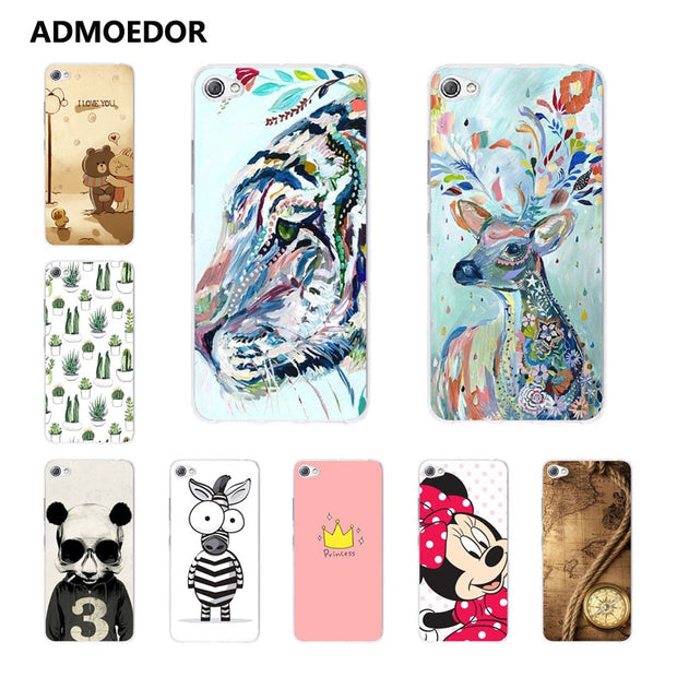 Lenovo S60 Case,Silicon Panda Painting Soft TPU Back Cover For Lenovo S60t Phone Protect Case Shell