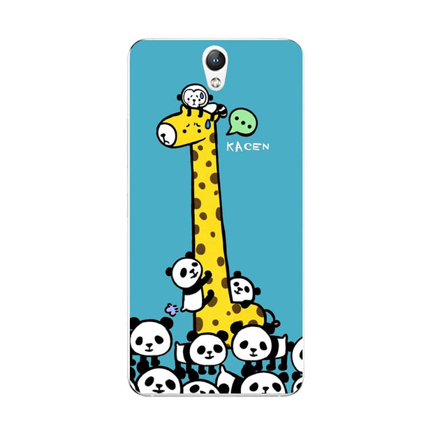 Lenovo Vibe S1 Case,Silicon Cartoon Animal Painting Soft TPU Back Cover For Lenovo Vibe S1 Lite Phone Fitted Case Shell