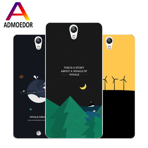 Lenovo Vibe S1 Case,Silicon Landscape Painting Soft TPU Back Cover For Lenovo Vibe S1 Lite Phone Fitted Case Shell