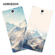 Lenovo Vibe S1 Case,Silicon Scenery Painting Soft TPU Back Cover For Lenovo Vibe S1 Lite Phone Fitted Case Shell
