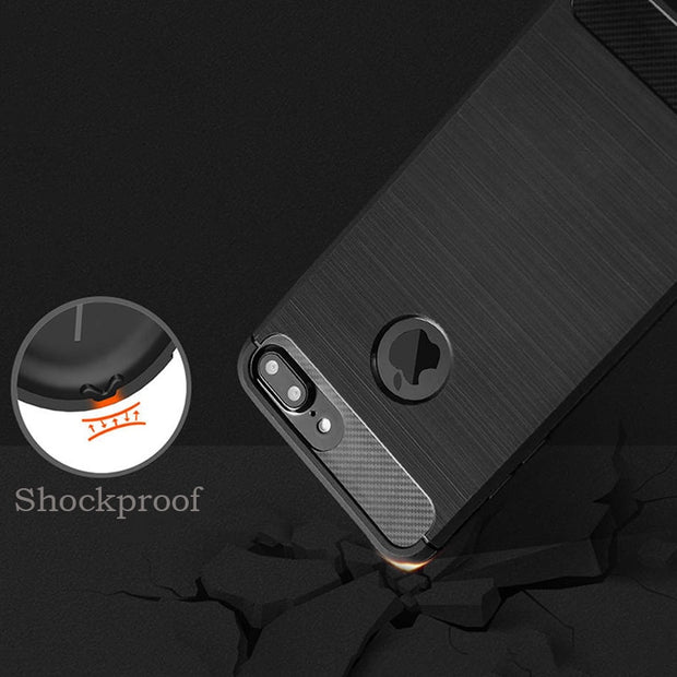 Luxury Drawing Shockproof Armor Case For Iphone 7 6 6s Plus SE 5 5s Cover High Quality Durable Soft Silicone Drawing Phone Cases