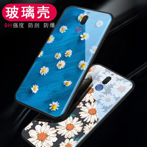 Luxury Glass Case For Huawei Nova 2 / 2 Plus Case Cute With Glass Back Cover For Huawei Nova 2S / 2i / 3E Case Cover