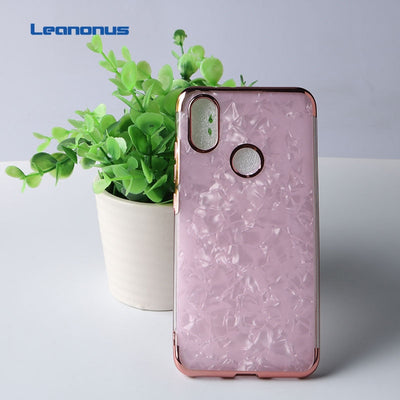 Luxury Hybrid Soft TPU Cover For Xiaomi Mi Mix2 Mix2s Plating Silicon Slim Case For Xiaomi Mi Mix2s Clear Glitter Back Coques
