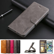 Luxury Leather Flip Case For Apple IPhone 7 8 Plus Protective Wallet Phone Cover IPhone 7 8 With Credit Cards Coque For IPhone 7