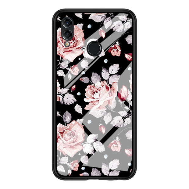 Luxury Tempered Glass Cases For Huawei P10 P20 Plus Cool Cat Anti-Scratch Full Case For Huawei P20 Pro / P20 Lite Back Case