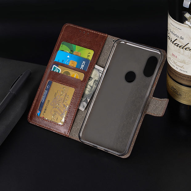 Luxury Wallet Case For Xiaomi Mi MIX 2S Flip Magnet Leather Capa Stand Crad Pocket Photo Frame Cover For Xiaomi Mi MIX 2s Case
