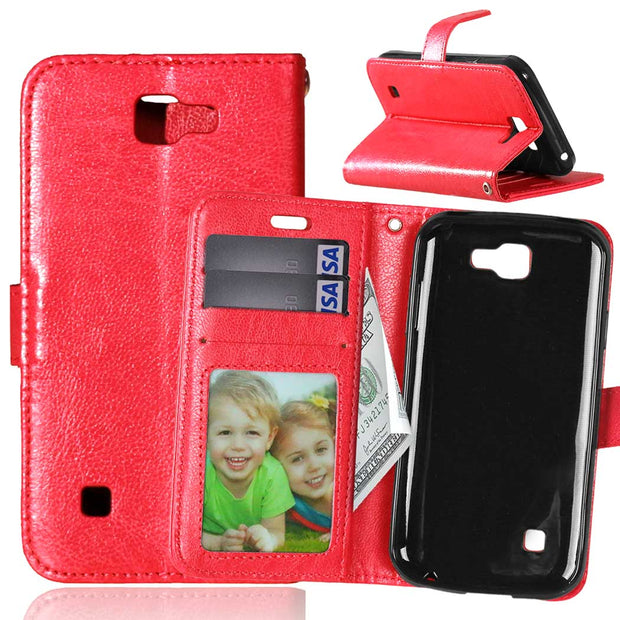 Magnetic Flip Case For LG K3 LTE K100 K100DS LS450 Case Photo Frame Phone Leather Cover For LG K 3 / K 100 100DS DS K100 Cases