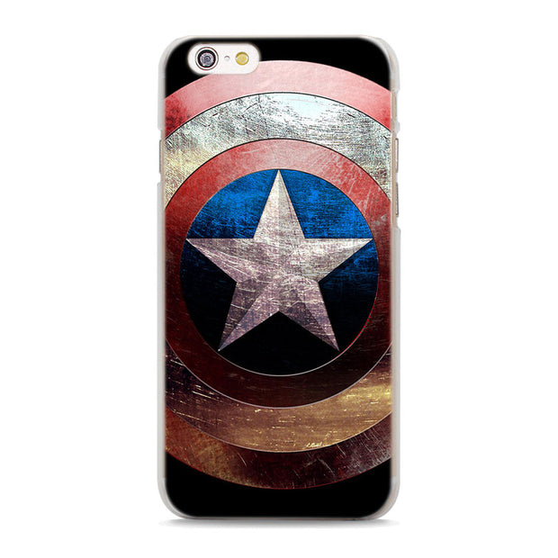Marvel Avengers Super Hero Phone Cases Cover For Apple IPhone 7 8 6 6S Plus SE 5S X XR XS MAX Protector Hard Cover Case