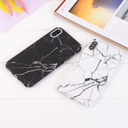 Matcheasy For IPhone 6s Case IPhone 7 8 Plus Marble Pattern Phone Cases For IPhone X 6 6s Plus Case Anti-knock Back Cover Coque