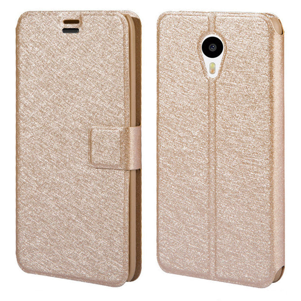 Meizu Mx4 Case On Meizu Mx4 Pro Cover Meizu Mx 4 Luxury PU Leather Wallet Open Window View Protective Flip Cover