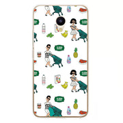 Meizu M5c Case,Silicon Cartoon Painting Soft TPU Back Cover For Meizu M5c Phone Fitted Case Shell