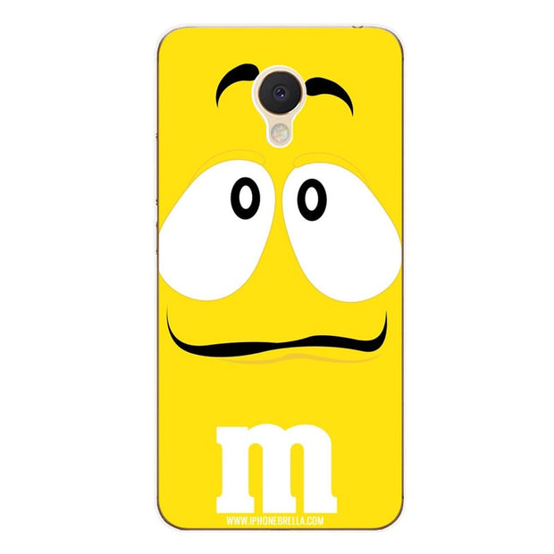 Meizu M5c Case,Silicon Letter Expression Painting Soft TPU Back Cover For Meizu M5c Phone Fitted Case Shell