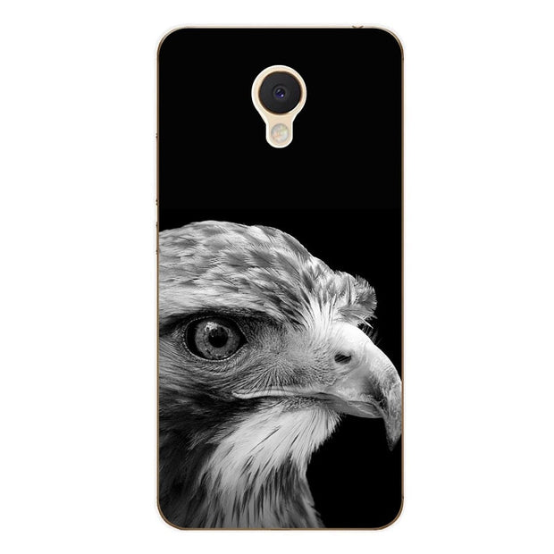 Meizu M5c Case,Silicon Bandersnatch Painting Soft TPU Back Cover For Meizu M5c Phone Fitted Case Shell