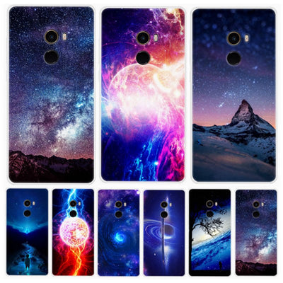 Mi Mix 2s Global Phone For Xiaomi Mi Mix2 Case Star Space Printed Silicone Soft Cover For Xiaomi Mi Mix 2 2s Case 5.99inch Ky103