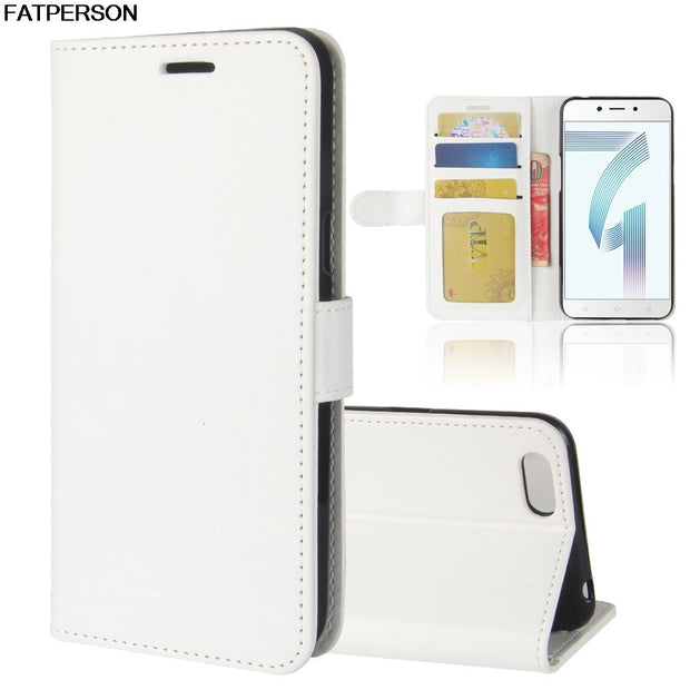 Multi-function Protection Smart Cover Soft Wallet For OPPO A71 Case Luxury PU 5.2 Inch Phone Case For OPPO A71 Phone Bracket