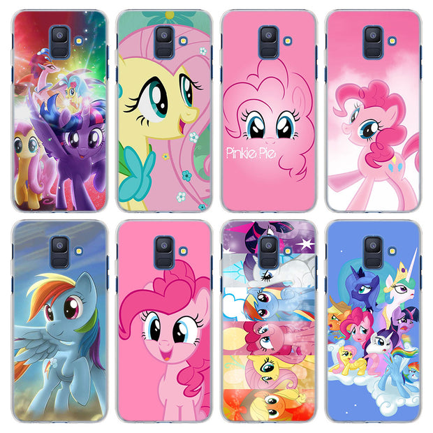 My Little Pony Style Transparent Frame Hard Case Cover For
