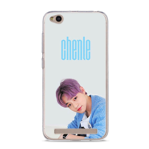 Nct 127 Kpop Boy Group Silicone Back Case Cover For Xiaomi Redmi 4x 5 Emerald Cases